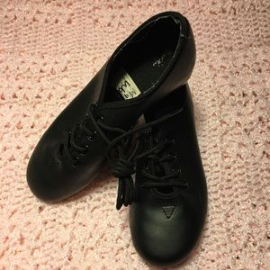 GIRLS TAP SHOES TRADITIONAL BLACK